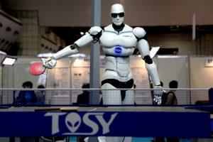 roboti in fabrici